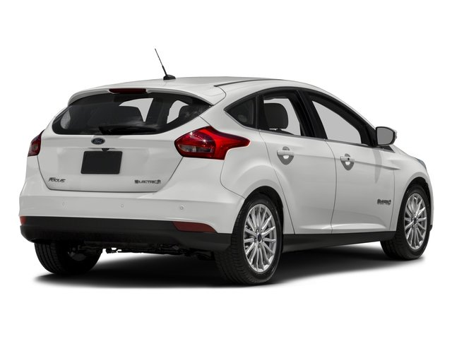 2016 Ford Focus Electric Pictures Focus Electric Hatchback 5D Electric photos side rear view