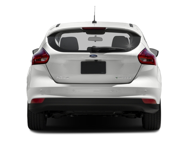 2016 Ford Focus Electric Pictures Focus Electric Hatchback 5D Electric photos rear view