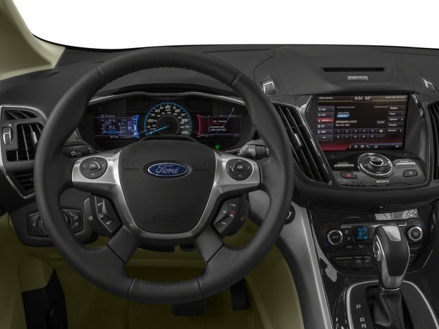 2016 Ford C-Max Energi Prices and Values Hatchback 5D Energi I4 Hybrid driver's dashboard