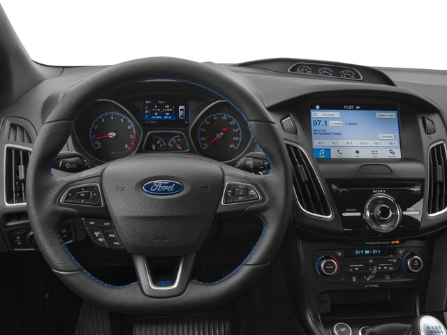 2016 Ford Focus Prices and Values Hatchback 5D RS AWD I4 Turbo driver's dashboard