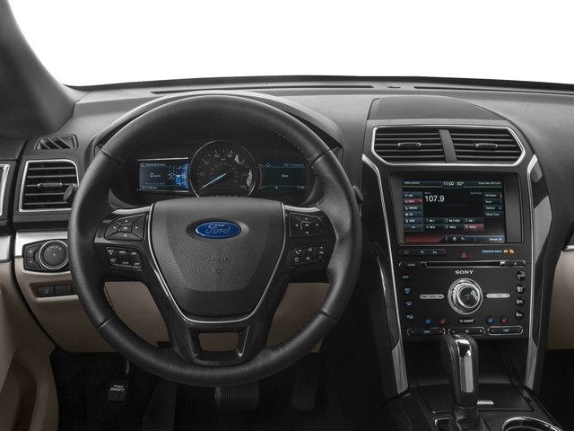 2016 Ford Explorer Pictures Explorer Utility 4D Limited 2WD V6 photos driver's dashboard