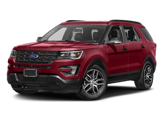 2016 Ford Explorer Prices and Values Utility 4D Sport 4WD V6