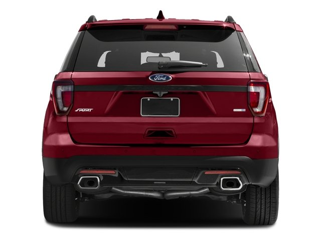 2016 Ford Explorer Prices and Values Utility 4D Sport 4WD V6 rear view