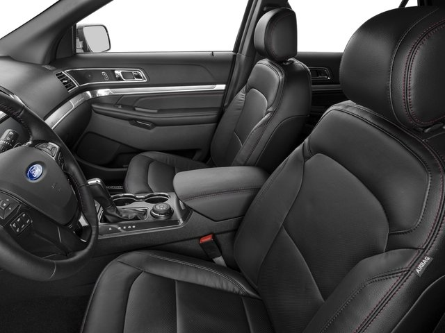 2016 Ford Explorer Prices and Values Utility 4D Sport 4WD V6 front seat interior