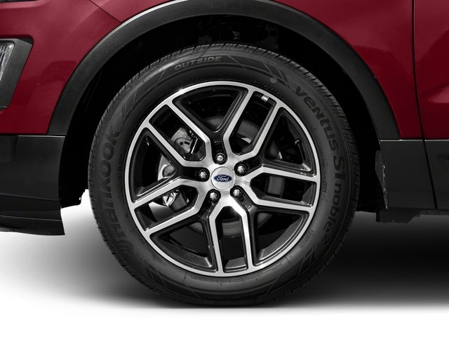 2016 Ford Explorer Prices and Values Utility 4D Sport 4WD V6 wheel