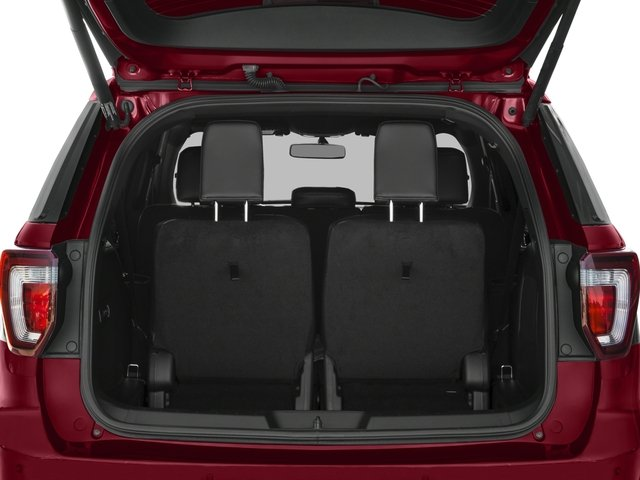 2016 Ford Explorer Prices and Values Utility 4D Sport 4WD V6 open trunk