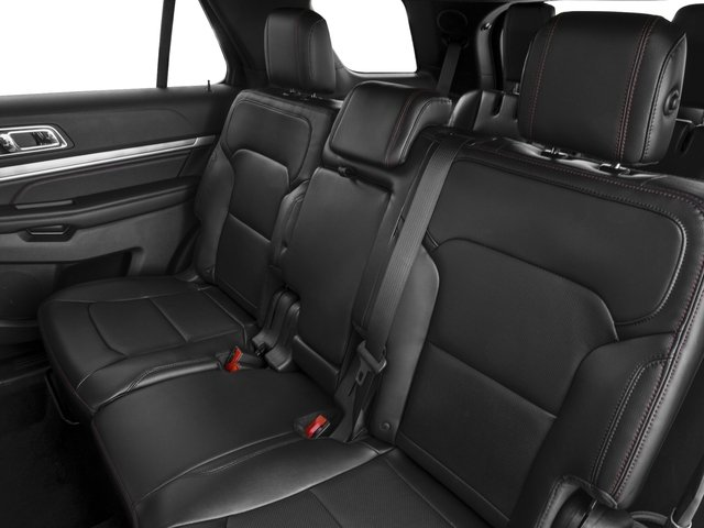 2016 Ford Explorer Prices and Values Utility 4D Sport 4WD V6 backseat interior