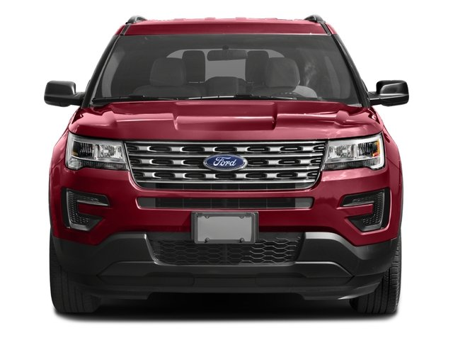 2016 Ford Explorer Pictures Explorer Utility 4D EcoBoost 2WD I4 photos front view