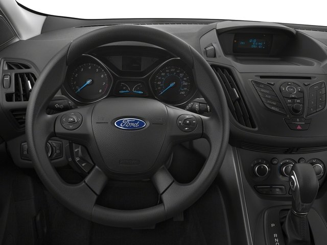 2016 Ford Escape Prices and Values Utility 4D SE EcoBoost 4WD I4 Turbo driver's dashboard