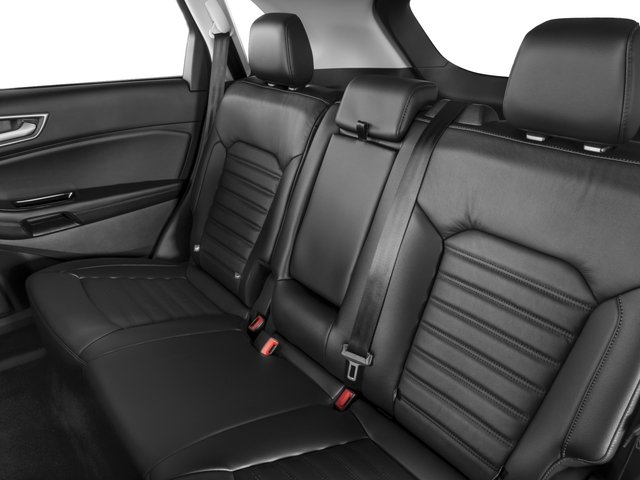 2016 Ford Edge Prices and Values Utility 4D SE 2WD I4 Turbo backseat interior