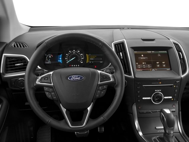 2016 Ford Edge Prices and Values Utility 4D Sport AWD V6 Turbo driver's dashboard