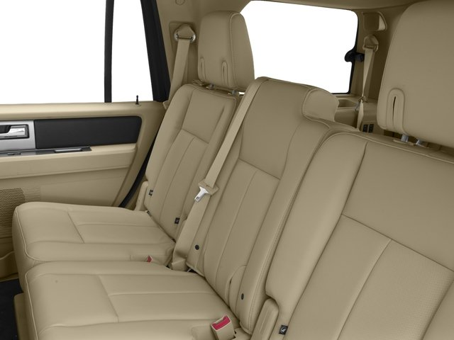 2016 Ford Expedition Prices and Values Utility 4D XL 4WD V6 Turbo backseat interior