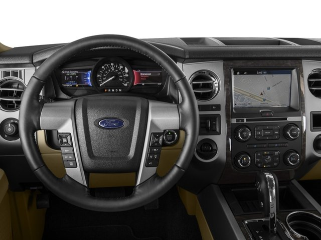 2016 Ford Expedition Prices and Values Utility 4D Limited 4WD V6 Turbo driver's dashboard