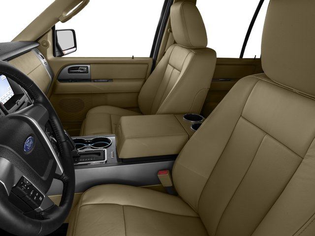 2016 Ford Expedition Prices and Values Utility 4D Limited 4WD V6 Turbo front seat interior