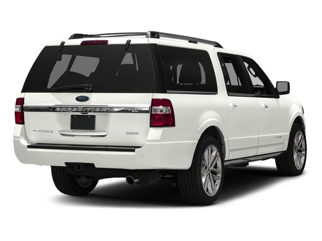 2016 Ford Expedition EL Prices and Values Utility 4D Platinum 2WD V6 Turbo side rear view