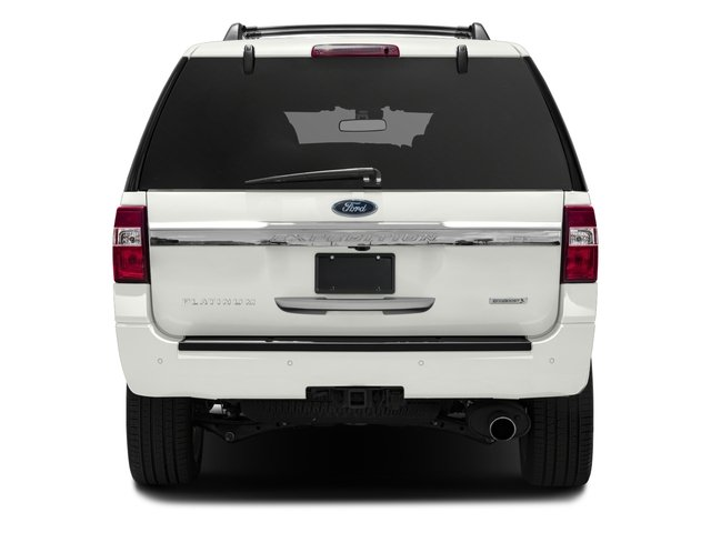 2016 Ford Expedition EL Prices and Values Utility 4D Platinum 2WD V6 Turbo rear view