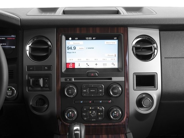 2016 Ford Expedition EL Prices and Values Utility 4D Platinum 2WD V6 Turbo stereo system