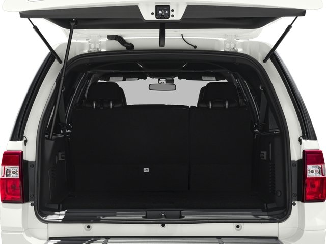 2016 Ford Expedition EL Prices and Values Utility 4D Platinum 2WD V6 Turbo open trunk