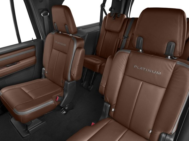 2016 Ford Expedition EL Prices and Values Utility 4D Platinum 2WD V6 Turbo backseat interior