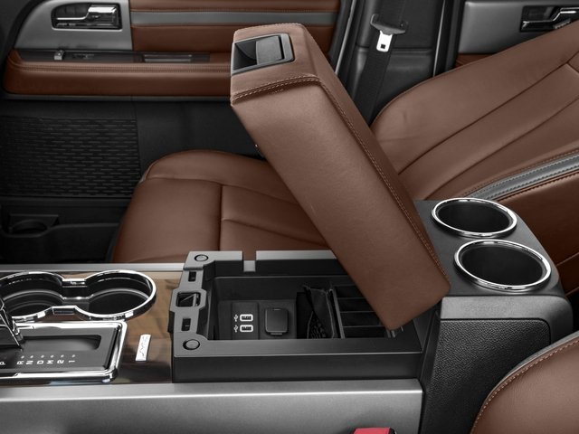 2016 Ford Expedition EL Prices and Values Utility 4D Platinum 2WD V6 Turbo center storage console