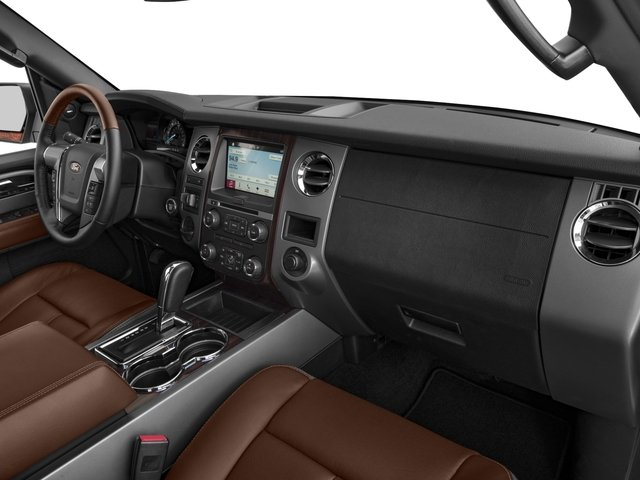 2016 Ford Expedition EL Prices and Values Utility 4D Platinum 2WD V6 Turbo passenger's dashboard