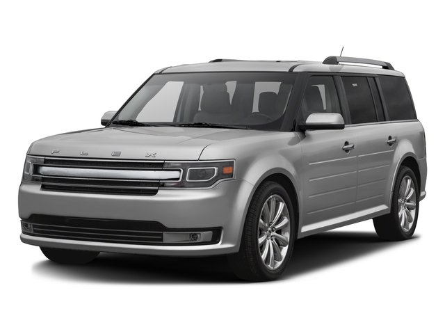2016 Ford Flex Pictures Flex Wagon 4D Limited AWD photos side front view