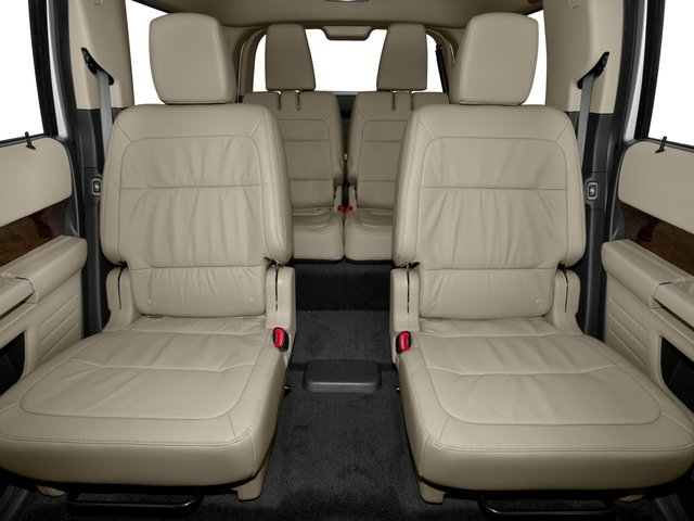 2016 Ford Flex Pictures Flex Wagon 4D Limited AWD photos backseat interior