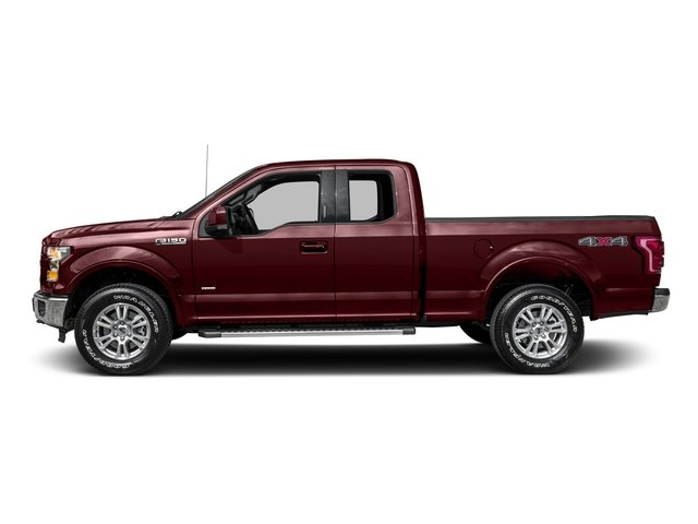 2016 Ford F-150 Prices and Values Supercab Lariat 2WD side view