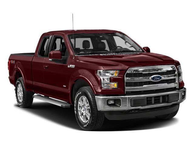 2016 Ford F-150 Prices and Values Supercab Lariat 2WD side front view