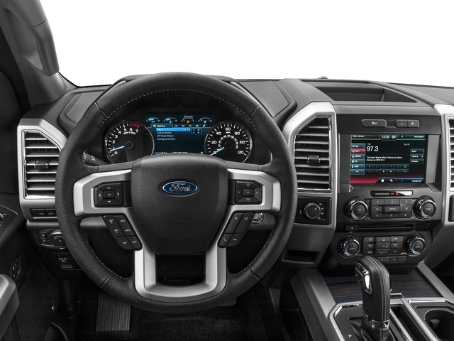 2016 Ford F-150 Prices and Values Supercab Lariat 2WD driver's dashboard