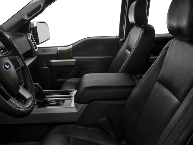 2016 Ford F-150 Prices and Values Supercab Lariat 2WD front seat interior