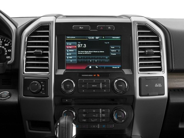 2016 Ford F-150 Prices and Values Supercab Lariat 2WD stereo system