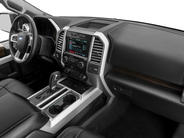 2016 Ford F-150 Prices and Values Supercab Lariat 2WD passenger's dashboard