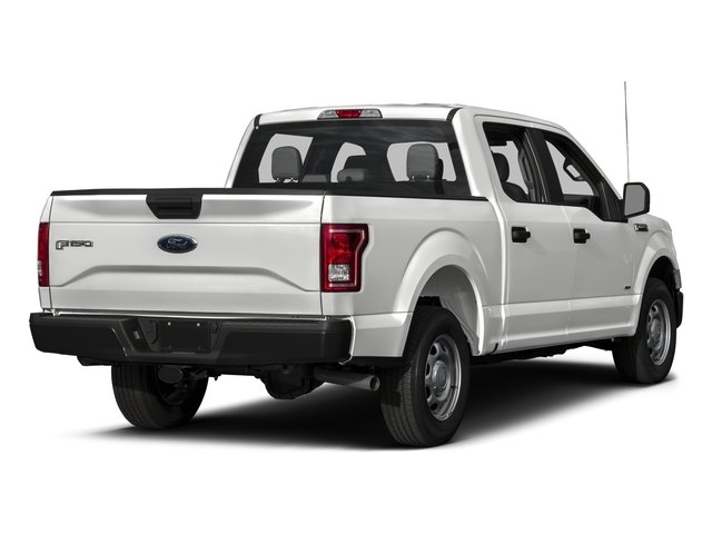 2016 Ford F-150 Pictures F-150 Crew Cab XL 2WD photos side rear view