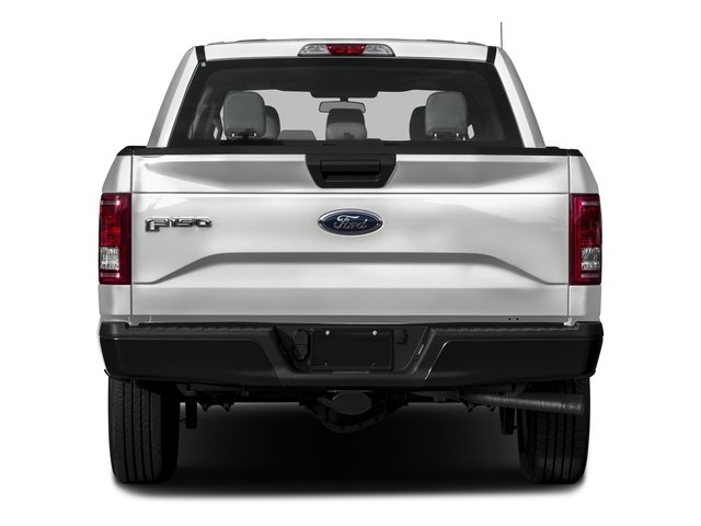 2016 Ford F-150 Prices and Values Crew Cab XL 2WD rear view