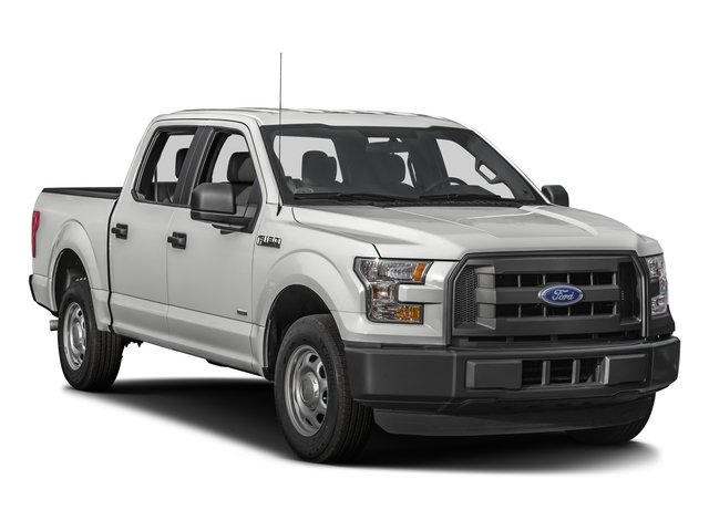 2016 Ford F-150 Prices and Values Crew Cab XL 2WD side front view