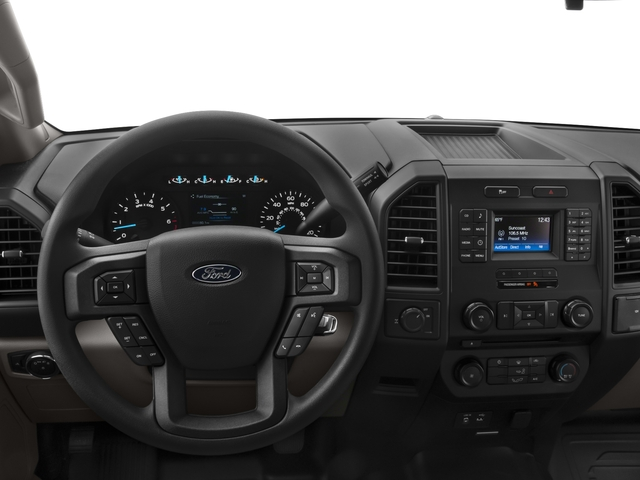 2016 Ford F-150 Prices and Values Crew Cab XL 2WD driver's dashboard