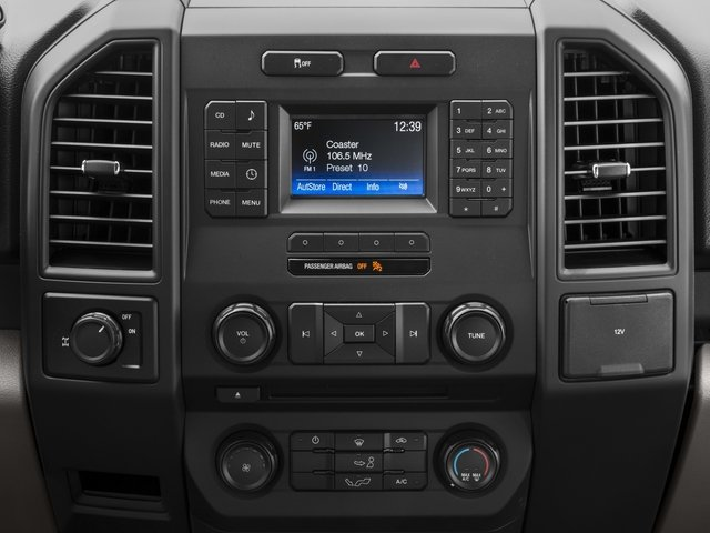 2016 Ford F-150 Prices and Values Crew Cab XL 2WD stereo system