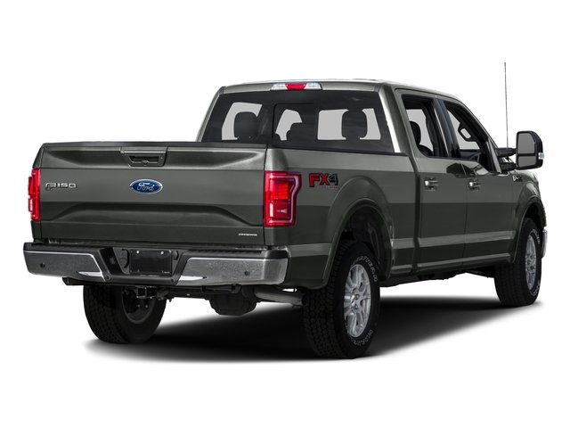 2016 Ford F-150 Prices and Values Crew Cab Lariat 4WD side rear view