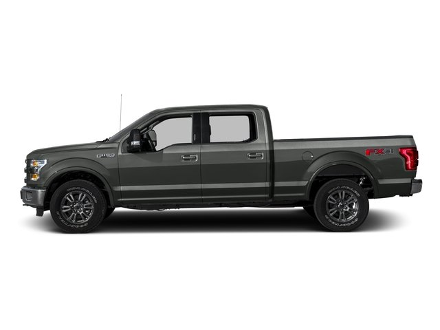 2016 Ford F-150 Prices and Values Crew Cab Lariat 4WD side view