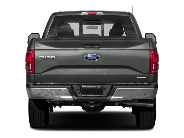 2016 Ford F-150 Prices and Values Crew Cab Lariat 4WD rear view