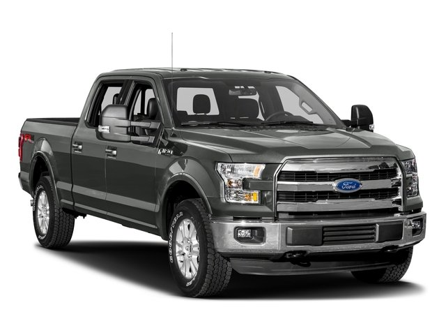 2016 Ford F-150 Prices and Values Crew Cab Lariat 4WD side front view