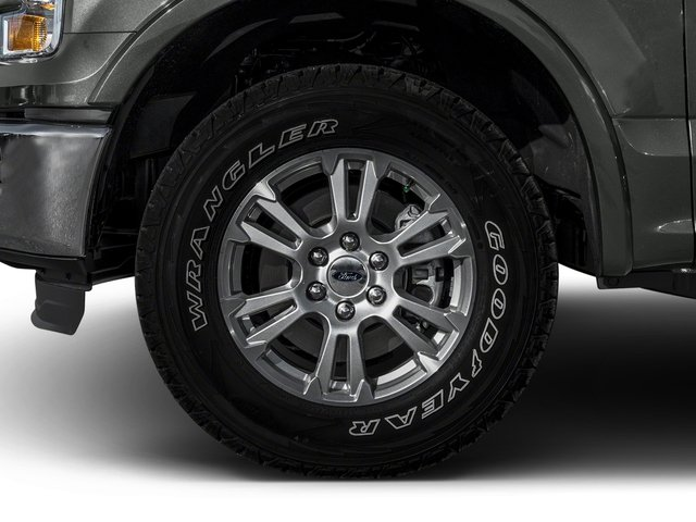 2016 Ford F-150 Prices and Values Crew Cab Lariat 4WD wheel