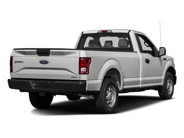 2016 Ford F-150 Prices and Values Regular Cab XL 4WD side rear view