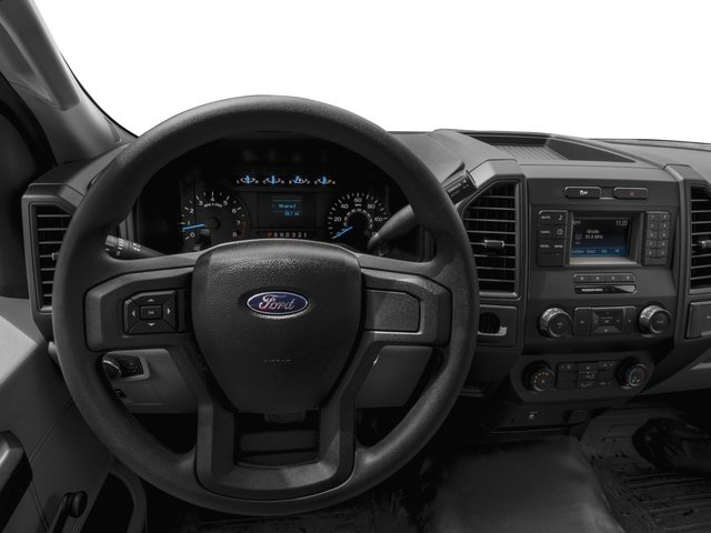 2016 Ford F-150 Prices and Values Regular Cab XL 4WD driver's dashboard
