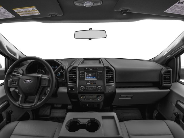 2016 Ford F-150 Prices and Values Regular Cab XL 4WD full dashboard