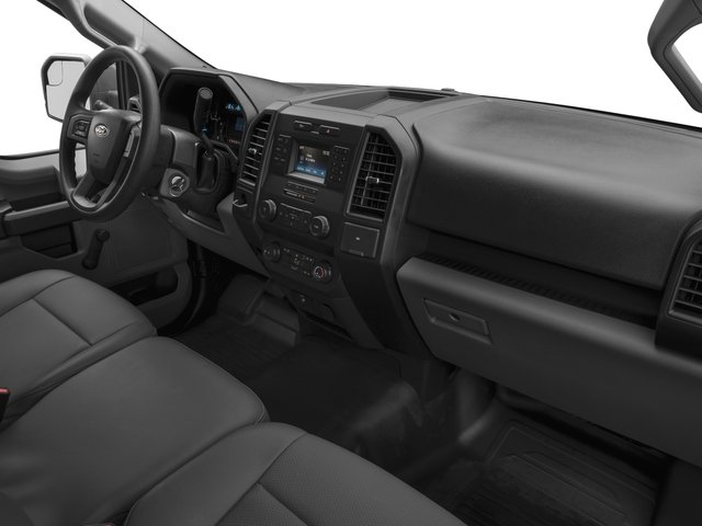 2016 Ford F-150 Prices and Values Regular Cab XL 4WD passenger's dashboard