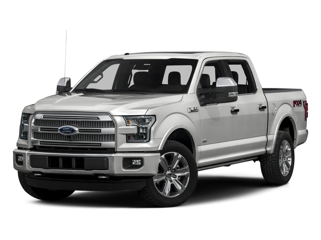2016 Ford F-150 Prices and Values Crew Cab Platinum 4WD