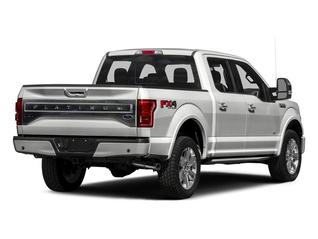 2016 Ford F-150 Prices and Values Crew Cab Platinum 4WD side rear view