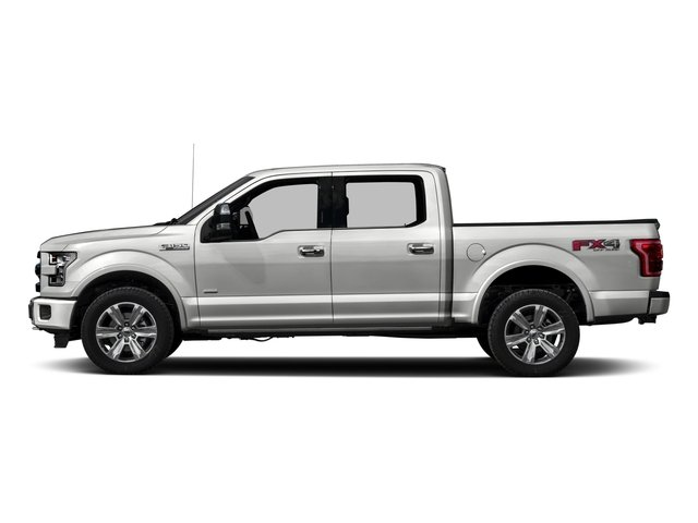 2016 Ford F-150 Prices and Values Crew Cab Platinum 4WD side view